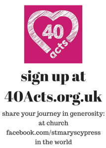 sign up at40Acts.org.uk